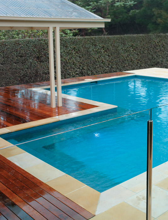 Gallery perspective pools and landscapes
