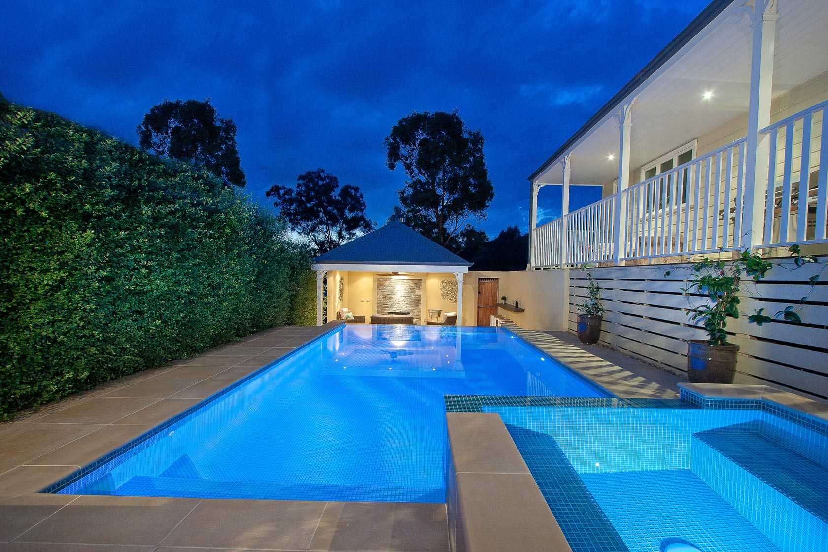 Landscape pool designs melbourne pdf for Pool design by poolside